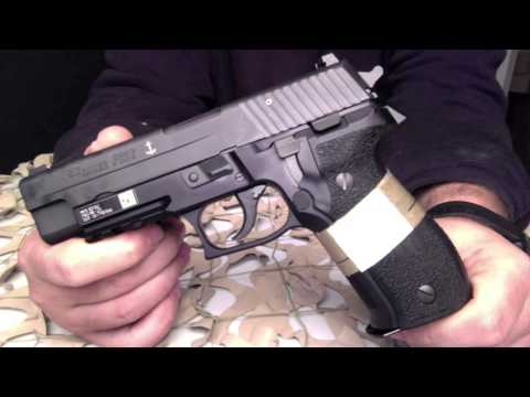 Sig Sauer P226 MK25 US Navy Seals 9mm Pistol Overview  Texas Gun Blog