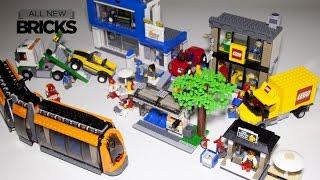 Lego City 60097 City Square Speed Build