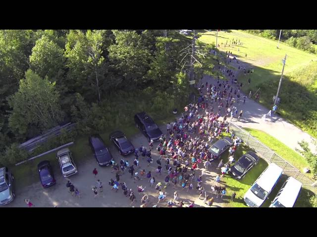 Camp Modin Flash Mob - Maine