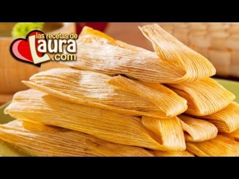 Tamales Mexicanos de Maseca ¡Sin manteca!♥Recetas Saludables♥Las Recetas de Laura