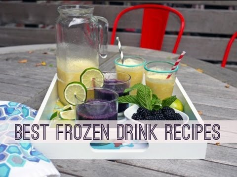 Best Frozen Summer Drink Recipes (Cocktails & Mocktails, Too!)
