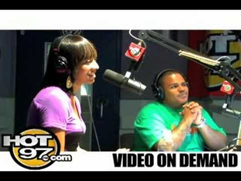 HOT 97- Angie interviews Keri Hilson Video