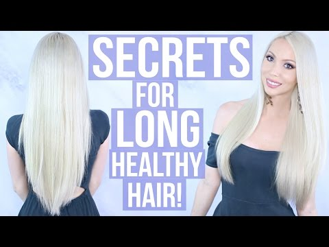 How To Grow Long, Healthy Hair!