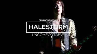 "Halestorm - ""Uncomfortable""MVのBehind the Videoを公開 新譜「Vicious」2018年7月27日発売予定収録曲 thm Music info Clip"