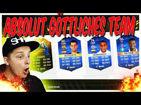 ABSOLUT GÖTTLICHES TEAM!! - FIFA 16: ULTIMATE TEAM (DEUTSCH)