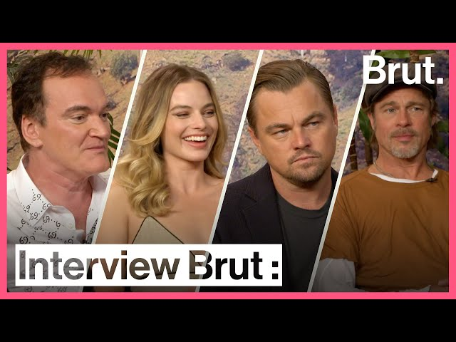 Interview Brut : l'équipe de Once Upon a Time in Hollywood thumbnail