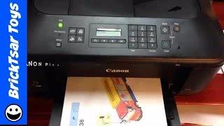 02. Canon Pixma MX452 Wireless Color Printer,Copier Scanner, FAX