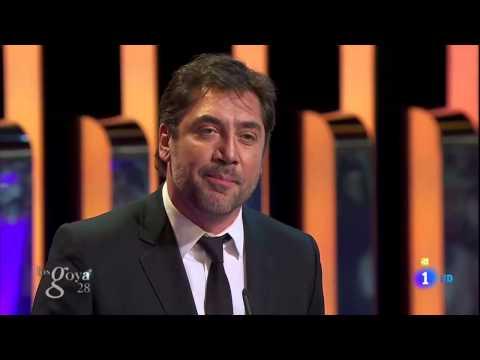 Premios GOYA 2014 - JAVIER BARDEM contra WERT