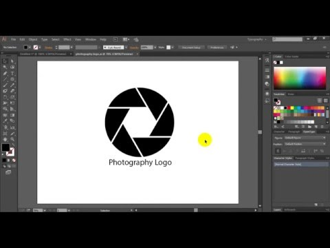 Как сделать логотип в фотошопе фотографу