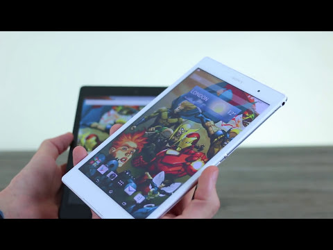 Nexus 9 vs Sony Xperia Z3 Tablet Compact