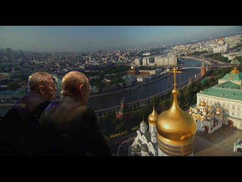 Putin visits new Zaryadye Park on Moscow City Day [SUBS]