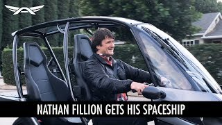 Nathan Fillion Gets His Spaceship