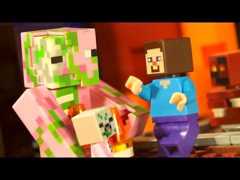 LEGO Minecraft vs LEGO Ninjago - Stop Motion Animation
