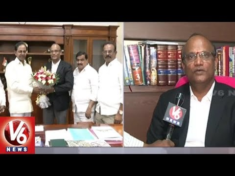 TS Govt Appoints Banda Sivananda Prasad As Advocate General | Hyderabad | V6 News