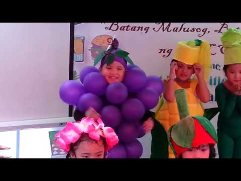 Kiefer's Group Performance... makulay Ang Buhay Sa Sinabawang Gulay video