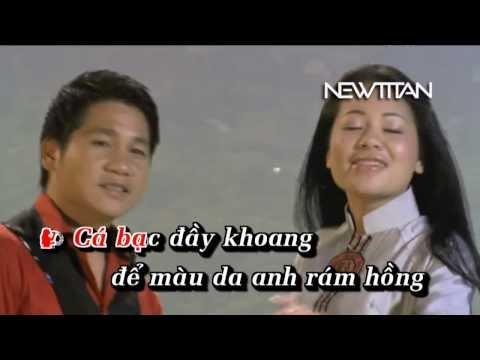 [dvd Karaoke] Tình Ta Biển Bạc đồng Xanh - Anh Thơ Ft Trọng Tấn Hd video