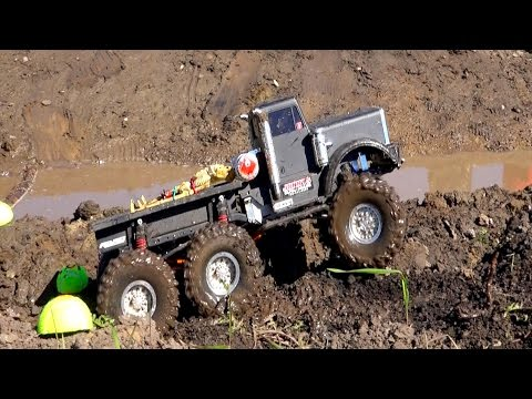 RC ADVENTURES - TTC 2015 - SWAMP RUN / TANK TRAP - Tough Truck Challenge  (Event 4)