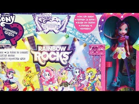 Mane Event Stage Playset / Koncert Rockowy - Rainbow Rocks - My Little Pony - Hasbro