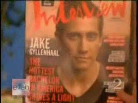 Jake Gyllenhaal on Ellen 10.18.07 Video