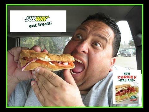 Subway® Turkey Italiano Melt REVIEW!