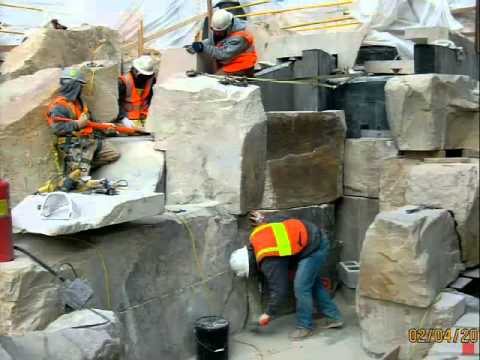 The Process of Selecting Natural Stone - From Selection to Installation (City Creek Center Project)