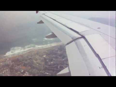 Landing at Visakhapatnam International Airport - AirIndia AI 617, AirBus 320