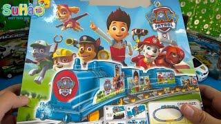 ĐỒ CHƠI TRẺ EM đường ray xe lửa chó cứu hộ - Paw patrol toys for kid