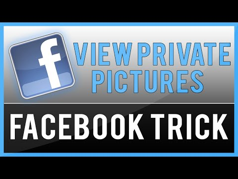 How To View Private Profile Pictures On Facebook (New 2015)