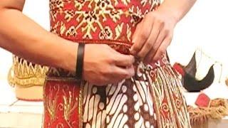 Cara Memakai Kostum Tari Jawa - How to Wear Javanese Dance Costume [HD]