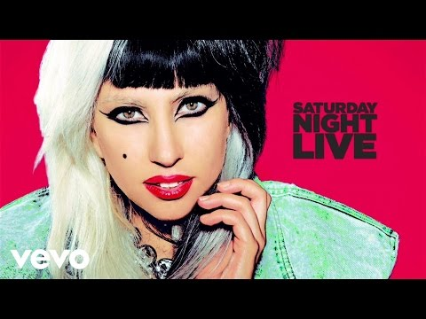 Lady Gaga - Born This Way (Live on SNL) Music Videos