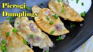 Pierogi Dumplings without eggs | How to make fried Polish dumplings!