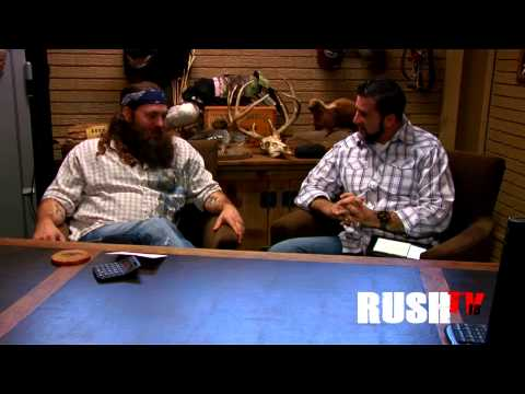 Willie Robertson CEO of Duck Commander and Marc Pritchett CEO of RUSH Ministries Interview