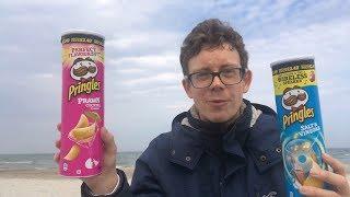 Pringles Prawn Cocktail vs Pringles Salt & Vinegar im Strand-Test an der Ostsee!
