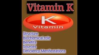 Vitamin K Lecture