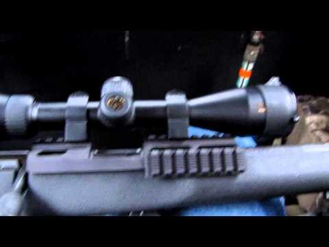 My New Savage Mark II TRR-SR 22 LR  By KVUSMC