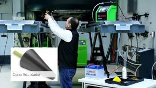 Detectar una fuga en el escape con el SMT 300 de Bosch