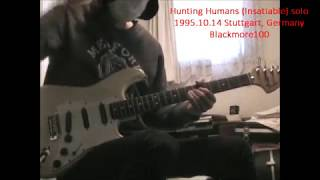 Hunting Humans (Insatiable) solo6 1995.10.14 Stuttgart, Germany- Blackmore100