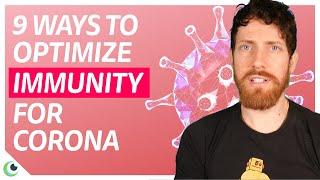 9 TOP ways to BOOST IMMUNITY for Coronavirus, with Mic the Vegan.