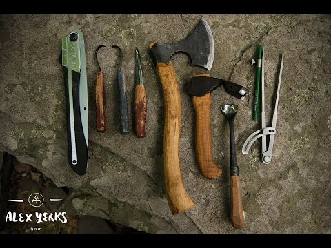 Axe Carving - Kuksa - Kasa - Noggin