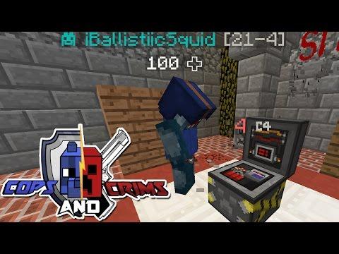 Minecraft Squiddy Sundays Cops Crims PEW PEW
