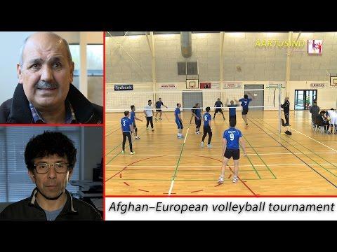 afghan-European volleyball tournament