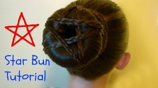 Star Bun Hairstyle