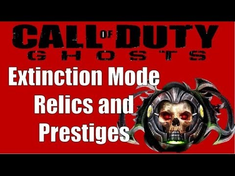 Call of Duty Ghosts Extinction PRESTIGE: What are Relics and How do they Help?