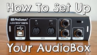 DIY| How to set up your AudioBox USB