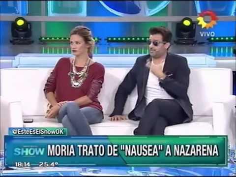 """Nazarena Vélez: Moria la llamó """"Náusea"""" y ella… ¡la destrozó!"""