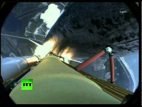 Space shuttle Atlantis final launch: NASA video of last take-off