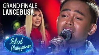 "Lance Busa performs ""Akin Ka Na Lang"" 