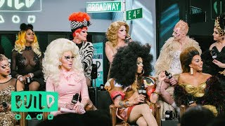 "The Cast Of ""RuPaul's Drag Race All Stars"" Drops By To Discuss Season 3"