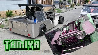TAMIYA OWNER TYPE JEEP TOYOTA 4AGE DOHC ENGINE