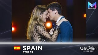 Spain in Eurovision 2000-2018 | MY TOP 19